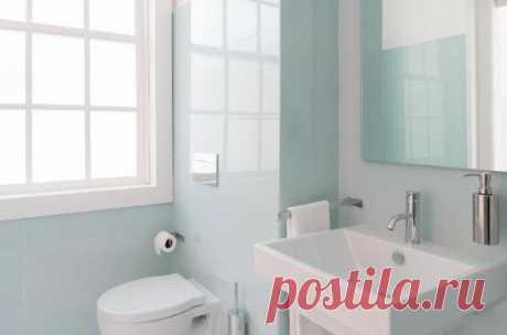 Мои зеркала, ванная и раковина всегда блестят благодаря маленькой хитрости. Я использую не совсем обычное средство