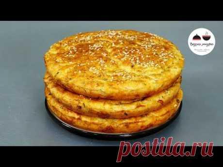Лепешки вместо хлеба к любому блюду: недорого, вкусно и очень просто (я теста даже руками не касаюсь) | Кухня наизнанку | Яндекс Дзен
