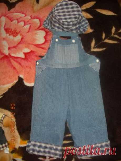 Переделываем для детей из джинсов