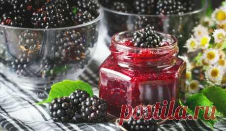 Варенье из ежевики Пятиминутка с целыми ягодами - рецепты на зиму Здравствуйте! Любите десерты? А если я скажу вам, что можно приготовить из целых ягод ежевики — варенье. Как на это