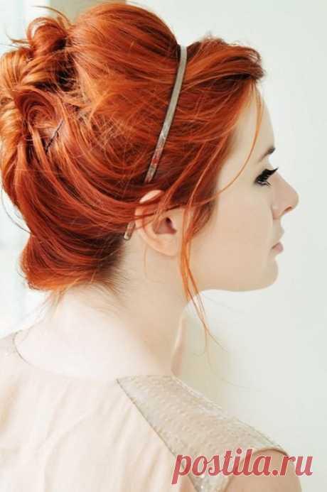 «Прическа для рыжих волос на свадьбу» — карточка пользователя wika.wika28 в Яндекс.Коллекциях