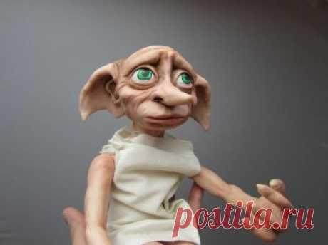 Кукла персонажа из фильма, выполненная из полимерной глины — Своими руками
