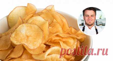 Как сделать картофельные чипсы дома – «Еда»