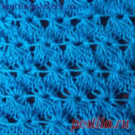 Patterns for knitting by spokes with the description of the Snail from the intertwined loops