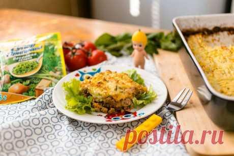 Пастуший пирог - пошаговый рецепт с фото - как приготовить - ингредиенты, состав, время приготовления - Дети Mail.Ru