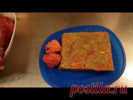Рецепт сырого натурального питания для собак 4.