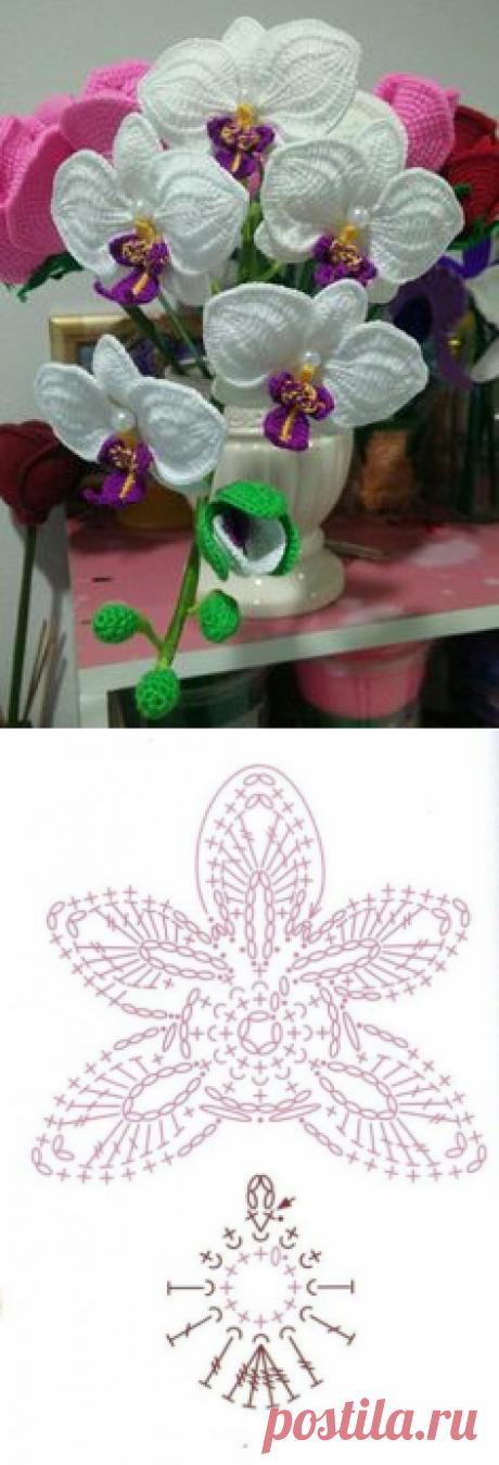 Немного цветочного вдохновения из категории Интересные идеи – Вязаные идеи, идеи для вязания
