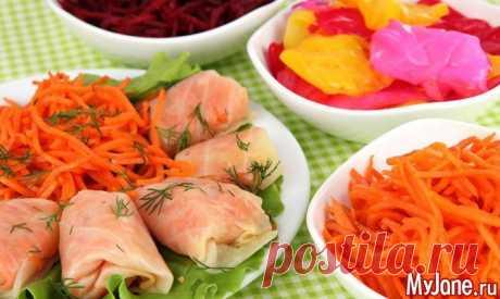 Корейские закуски - корейская кухня, рецепты, морковь по-корейски, кимчи, глутамат натрия