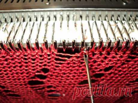 Вязание роспусков на вязальной машине - Ярмарка Мастеров - ручная работа, handmade