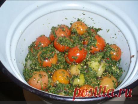 Помидоры по-грузински - Приготовим вкусно
