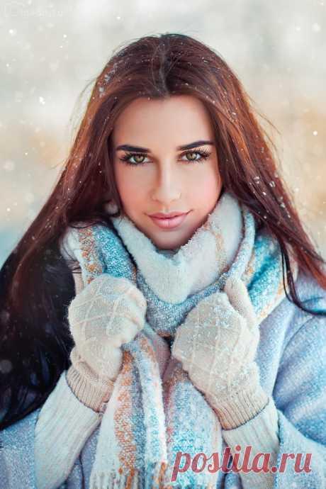 Снежное волшебство. Фотограф Ольга Бойко