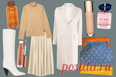 С чем носить юбку-плиссе и мини-платье: 3 женственных образа для октября - Мода - Леди Mail.ru