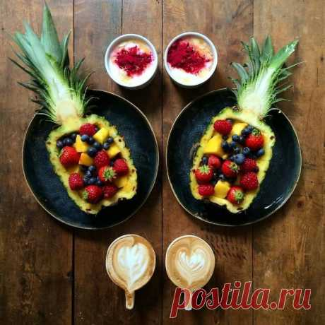 Мужчина каждый день делает симметричные завтраки для своего любимого • НОВОСТИ В ФОТОГРАФИЯХ