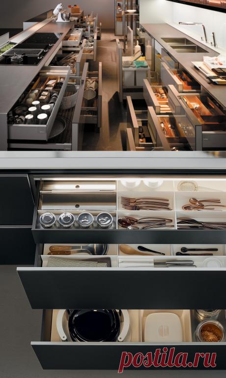 20 идеальных кухонных ящиков, ради которых вы купите новую кухню – Roomble.com