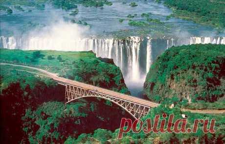 Самый высокий водопад в мире: широкий и длинный как называется
