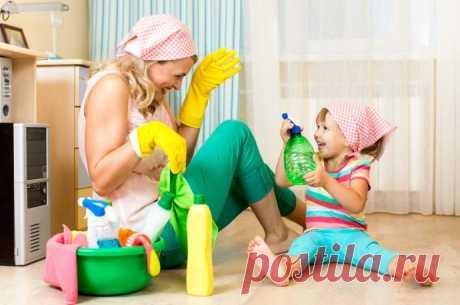 6 ошибок в уборке, которые делают все мамы