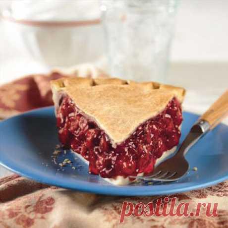 Вишневый пирог   Вишневый пирог - нечто невероятное: яркий вкус, яркий цвет, сладкая встреча с летом!