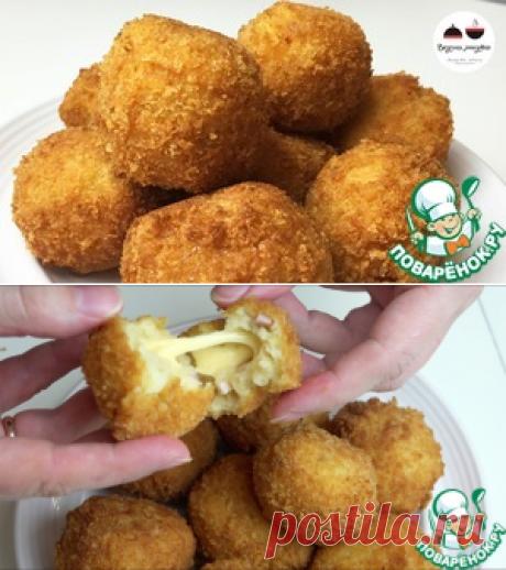 Картофельные шарики с ветчиной и сыром - кулинарный рецепт