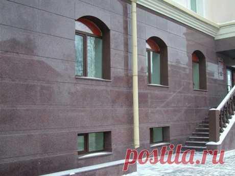 Оникс и керамогранит в отделке фасадов | Жильё Моё