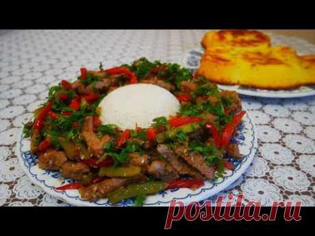 Ужин ГОТОВ !!! мясо по тайски с рисом, а также простой и быстрый рецепт творожного пирога с изюмом