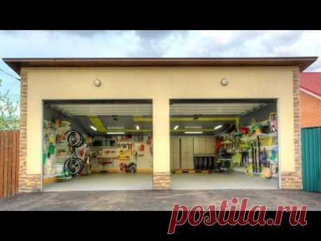 Идеальный гараж при доме от GarageTek в программе Фазенда на 1 канале (без рекламы)