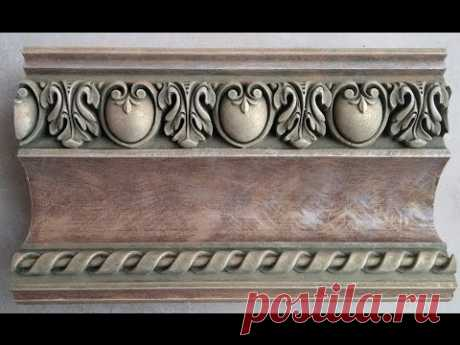 subtitles to be included!! how to paint beautiful cornice moldings, molding. #cornice #molding