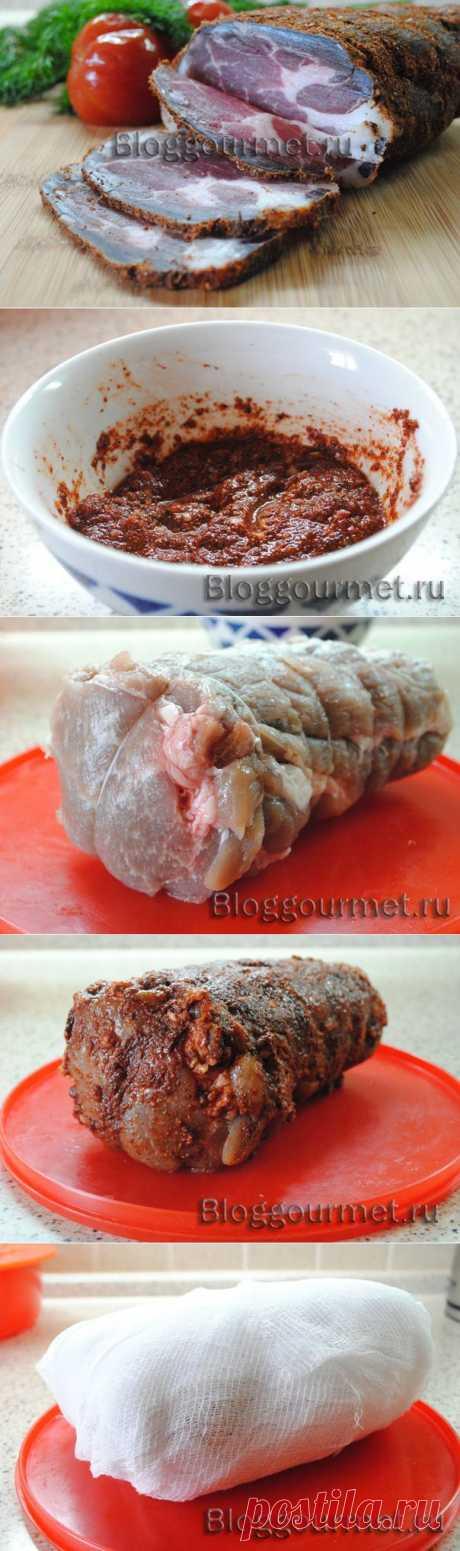 Сыровяленое мясо дома (вялится прямо в холодильнике) А вкус! М-м-м! | Ваши любимые рецепты