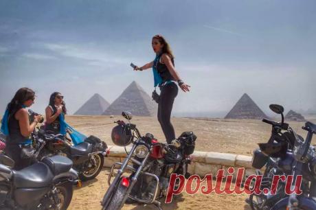 12 фото крутых женщин-байкеров на Ближнем Востоке Они классные!