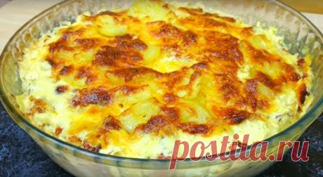 Потрясающее блюдо к ужину из простых продуктов - Четыре вкуса - медиаплатформа МирТесен