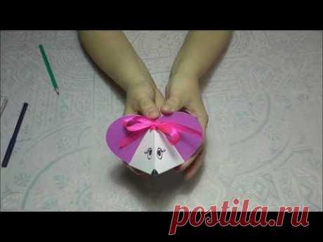 Символ года. Мышка. Как сделать мышку за 15 минут из бумаги.