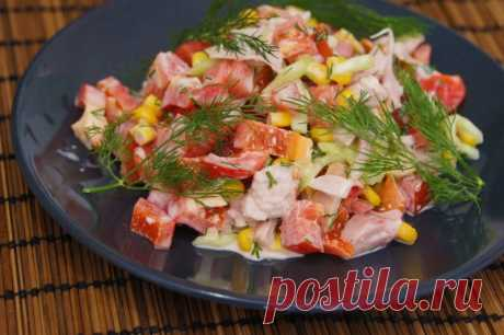 Салат «Парижель» — Sloosh – кулинарные рецепты