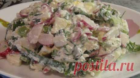 Салат с творогом и овощами: поможет похудеть Хочу поделиться с вами классным рецептом: как можно быстро и просто приготовить соблазнительно аппетитный салат с творогом и овощами. Салат из редиски легкий, обладает потрясающими вкусовыми качествами, принесет пользу организму, а еще — это идеальный вариант диеты для похудения. На приготовление овощного блюда ... https://see-receipt.ru/2020/03/10/%d1%81%d0%b0%d0%bb%d0%b0%d1%82-%d1%81-%d1%82%d0%b2%d0%be%d1%80%d0%be%d0%b3%d0%be%d0%bc-%d0%b8-%d0%be%d0%