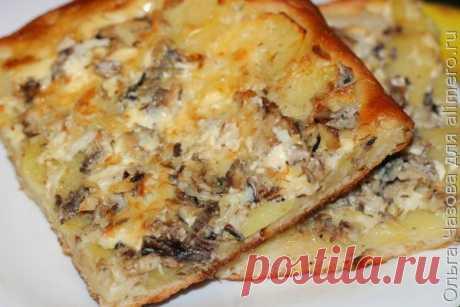 👌 Вкусный открытый пирог на масленицу, рецепты с фото На масленицу готовят не только блины, но и различные сытные блюда с мясом, рыбой, сметаной, творогом. Очень часто готовят пироги, булочки, курники, пельмени.  Сегодня я приготови...