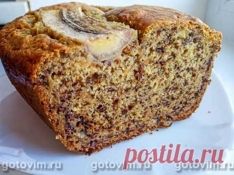 Банановый хлеб. Рецепт с фото