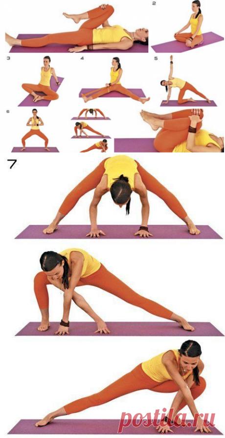 Йога для женщин: особенности практики и выполнения упражнений   8 асан для женщин: