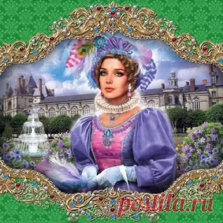 Королева Марго — сбор пазла — Пазлы онлайн