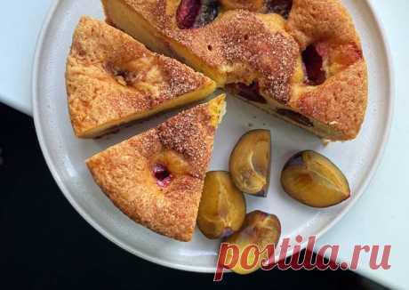 (2) Сливовый пирог из журнала New York Times - пошаговый рецепт с фото. Автор рецепта Екатерина Наймушина . - Cookpad