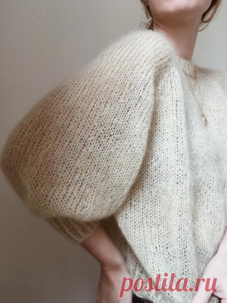 Вязаный свитер№1 | ДОМОСЕДКА