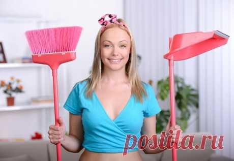 Как почистить дом за считанные минуты
