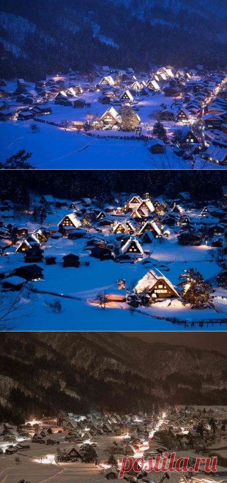 Село Сиракава, Япония - Путешествуем вместе