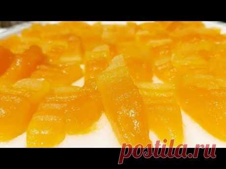 #Սեխի կամ (Եմիշի) չիր։Цукаты из дыни (цукаты из арбуза готовят так же) Цукаты рецепт.Candied melon