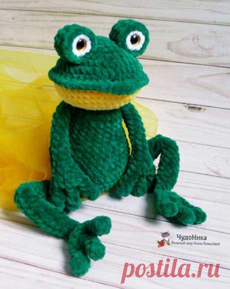Лягушка амигуруми. Схемы и описания для вязания игрушек крючком! Бесплатный мастер-класс от Анны Ковалёвой по вязанию плюшевой лягушки крючком. Для изготовления игрушки автор использовал пряжу Himalaya Dolphin Baby…