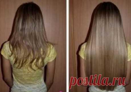Преврати свои тонкие волосы в шикарную копну волос! Всего за 1 ночь это средство сотворит чудо…   Golbis