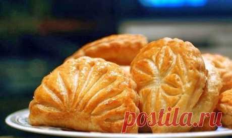 Яблочные песочные пирожки