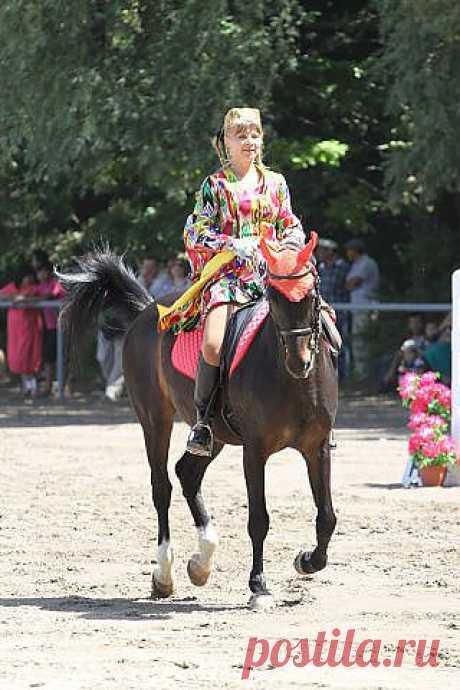 конное шоу.