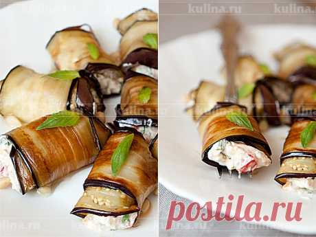 Закуска из баклажанов и сыра – рецепт приготовления с фото от Kulina.Ru