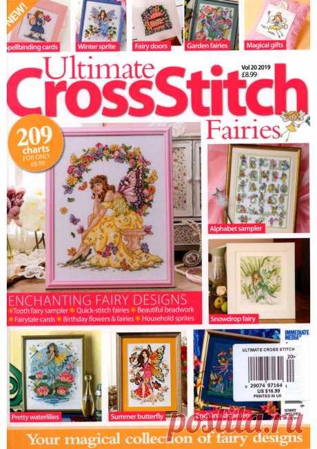 Ultimate Cross Stitch - Fairies Vol.20 2019.