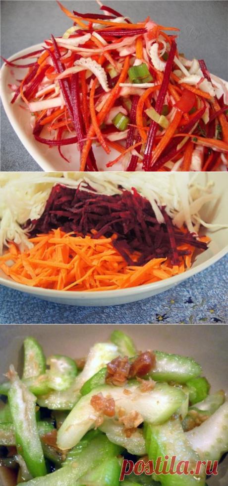 8 салатов для похудения!