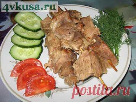 "Meat in ""а-ля шашлык&quot oven;. Photorecipe. | 4vkusa.ru"