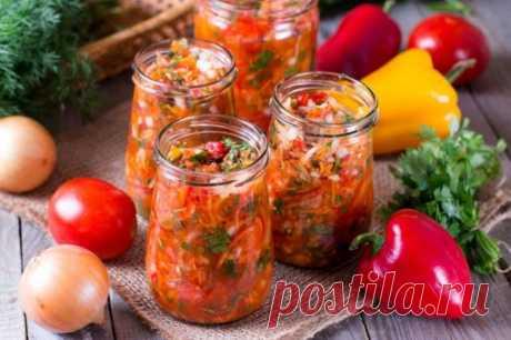 Какие вкусные и полезные салаты заготовить на зиму из сезонных овощей.(5 рецептов к зимнему столу) » Кулинарный сайт
